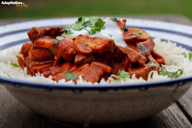Indo-Italian Chicken Curry & Rice p3