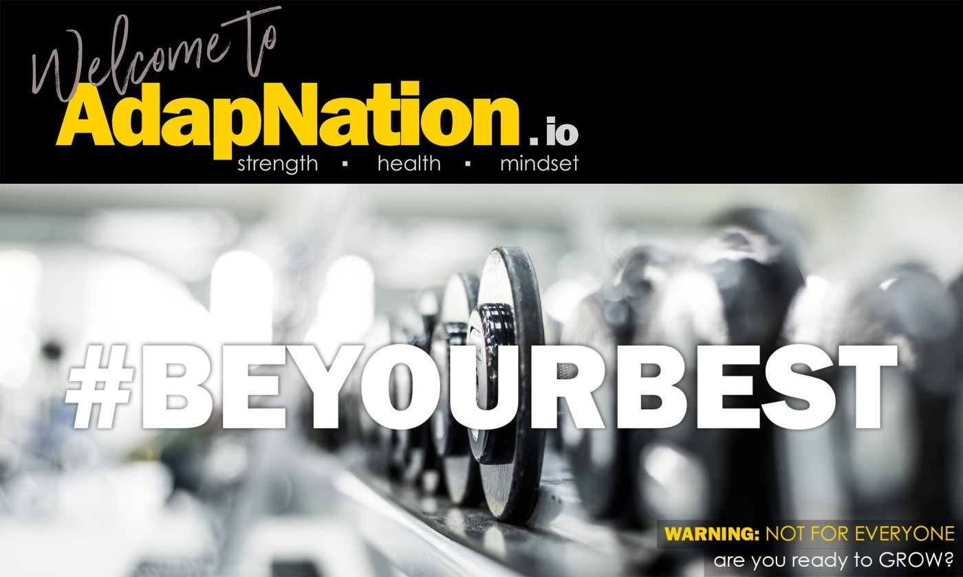 Welcome to AdapNation - BeYourBest