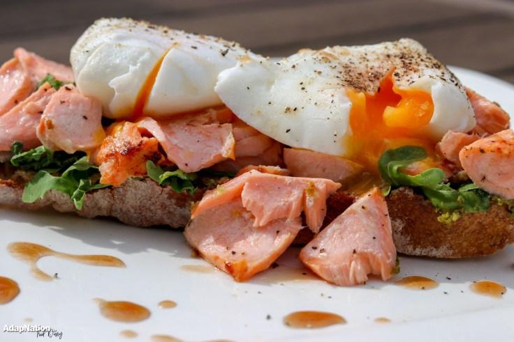 Salmon & Poached Egg Sourdough Toast p4