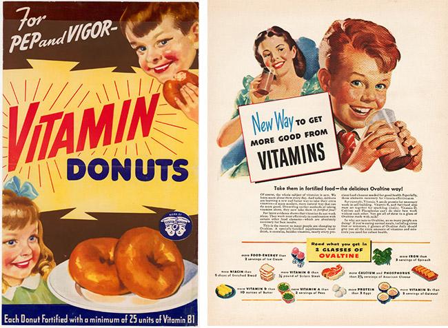 Fortified junk food