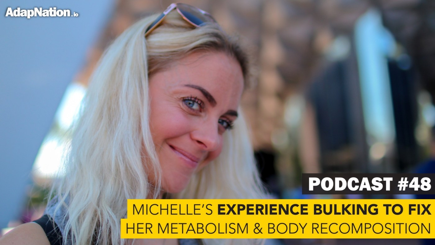 Podcast about females bulking