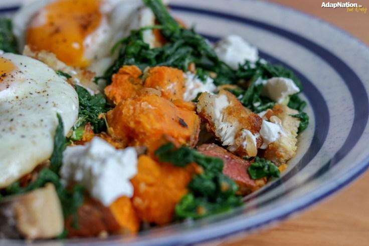 AdapNation's SP, Chicken, Egg & Veggie Hash Medley