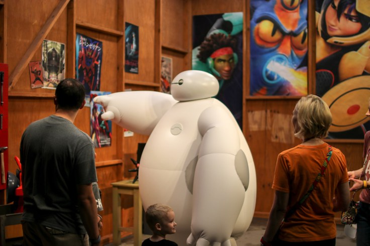 Baymax at Epcot