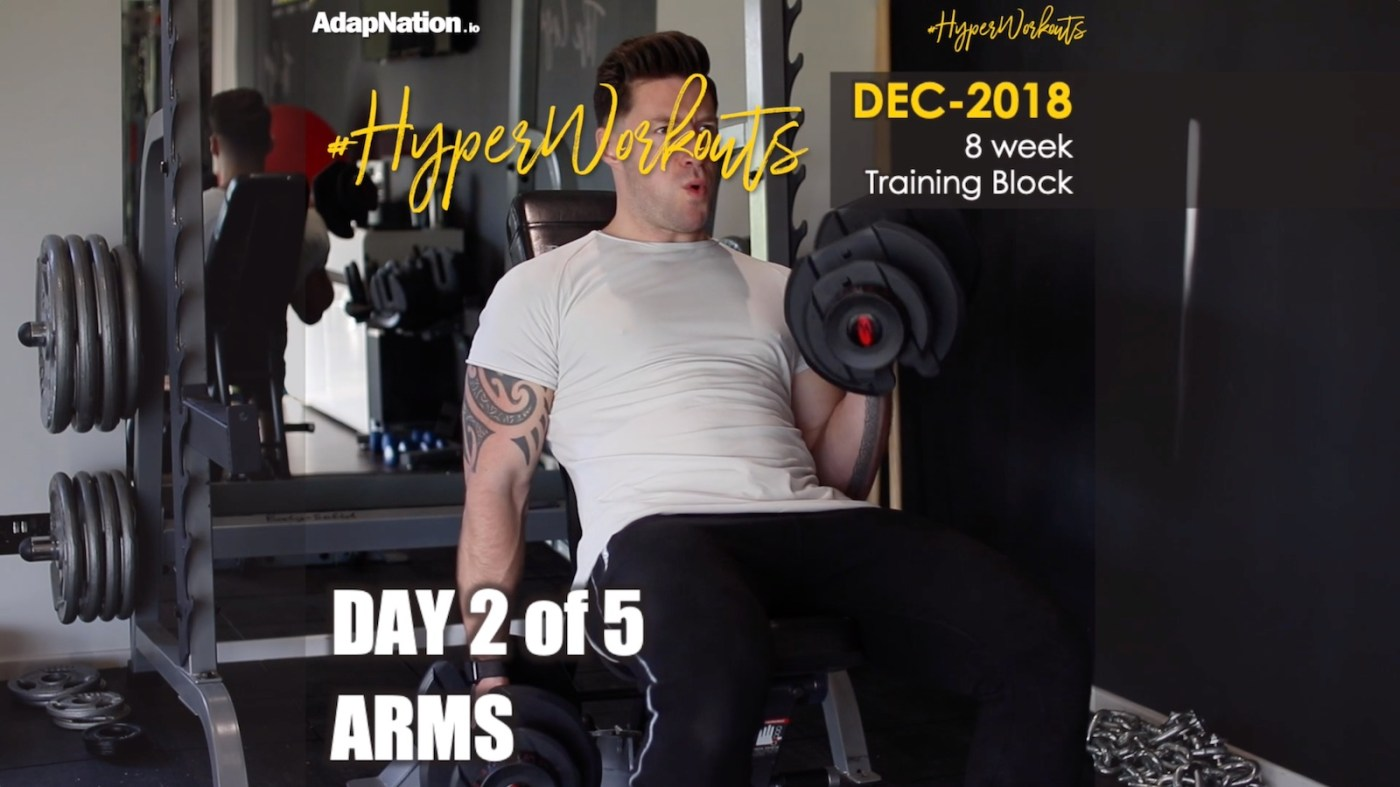 Gents DEC-18 #HyperWorkouts Arms