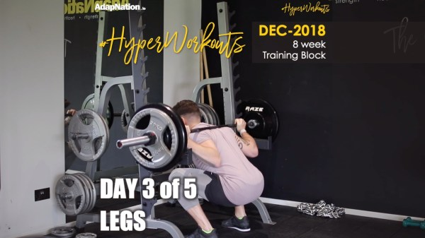 Gents DEC-18 #HyperWorkouts Legs