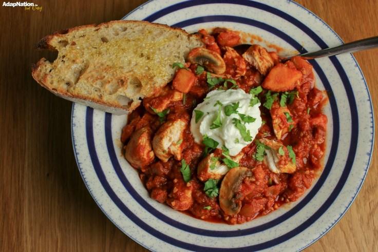 Smoky Chicken & Chorizo Stew – A Winter Warmer!