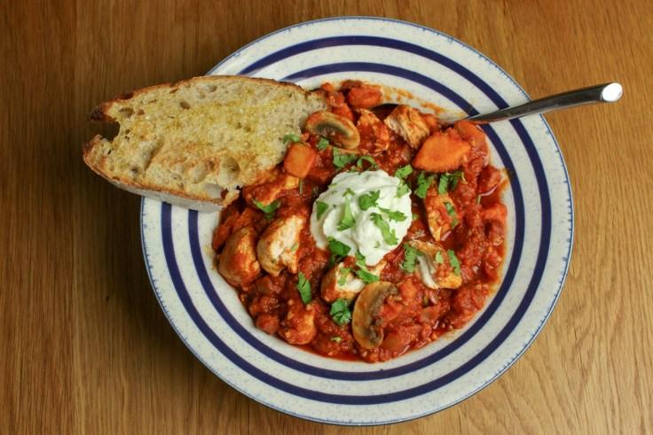 Smoky Chicken & Chorizo Stew - A Winter Warmer p4
