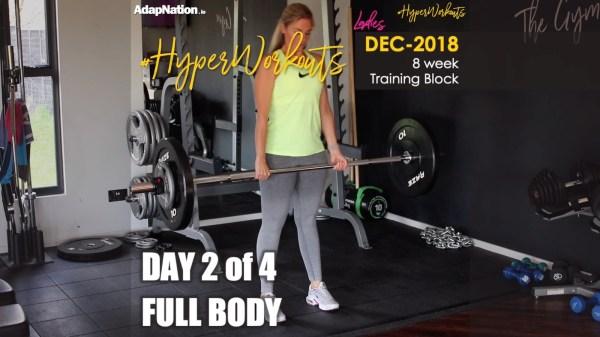 Ladies DEC-18 #HyperWorkouts Full