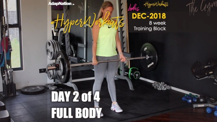 Ladies DEC-18 #HyperWorkouts Full