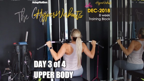 Ladies DEC-18 #HyperWorkouts Upper