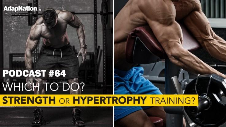 Strength vs Hypertrophy Training