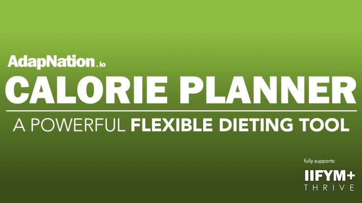 AdapNation Calorie Planner