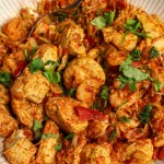 Chicken & King Prawn Paella