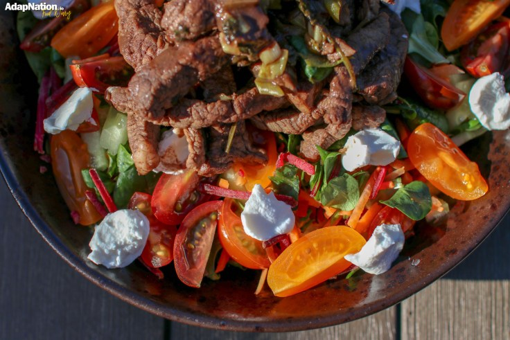 Balsamic Beef & Goats Cheese Tomato Salad p3