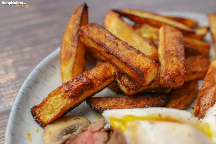 Steak Egg and Chips p2