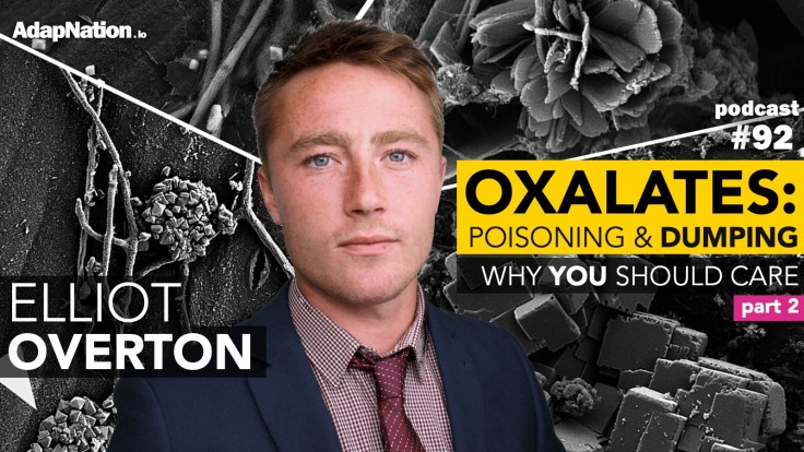 #92: Oxalate Poisoning & Dumping – Why YOU Should Care ~Elliot Overton (part 2)