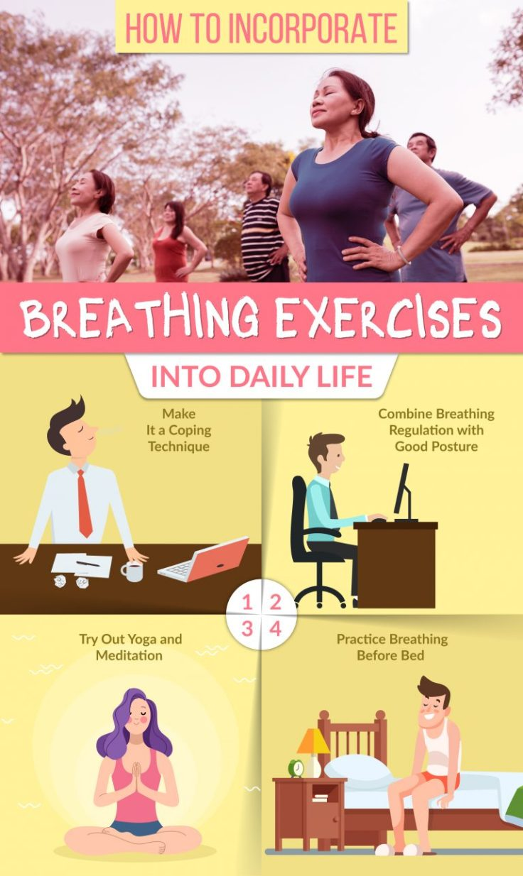 How to incorporate breathing exercises into daily life