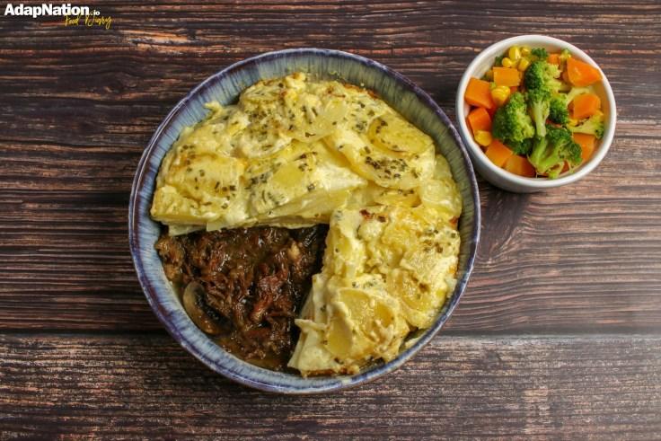 Ox Cheek & Potato Dauphinois Pie p4