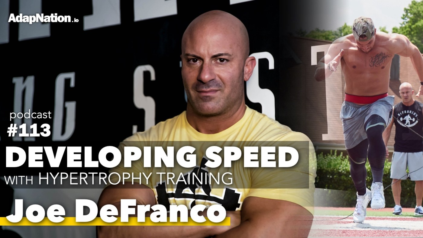 Joe DeFranco Speed Straining