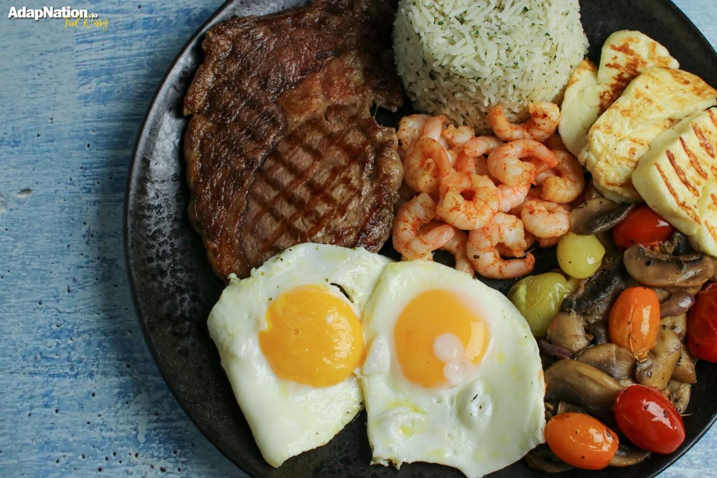 Steve's Steak & Eggs OMAD