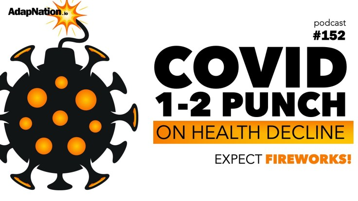 COVID-19 effects on health decline