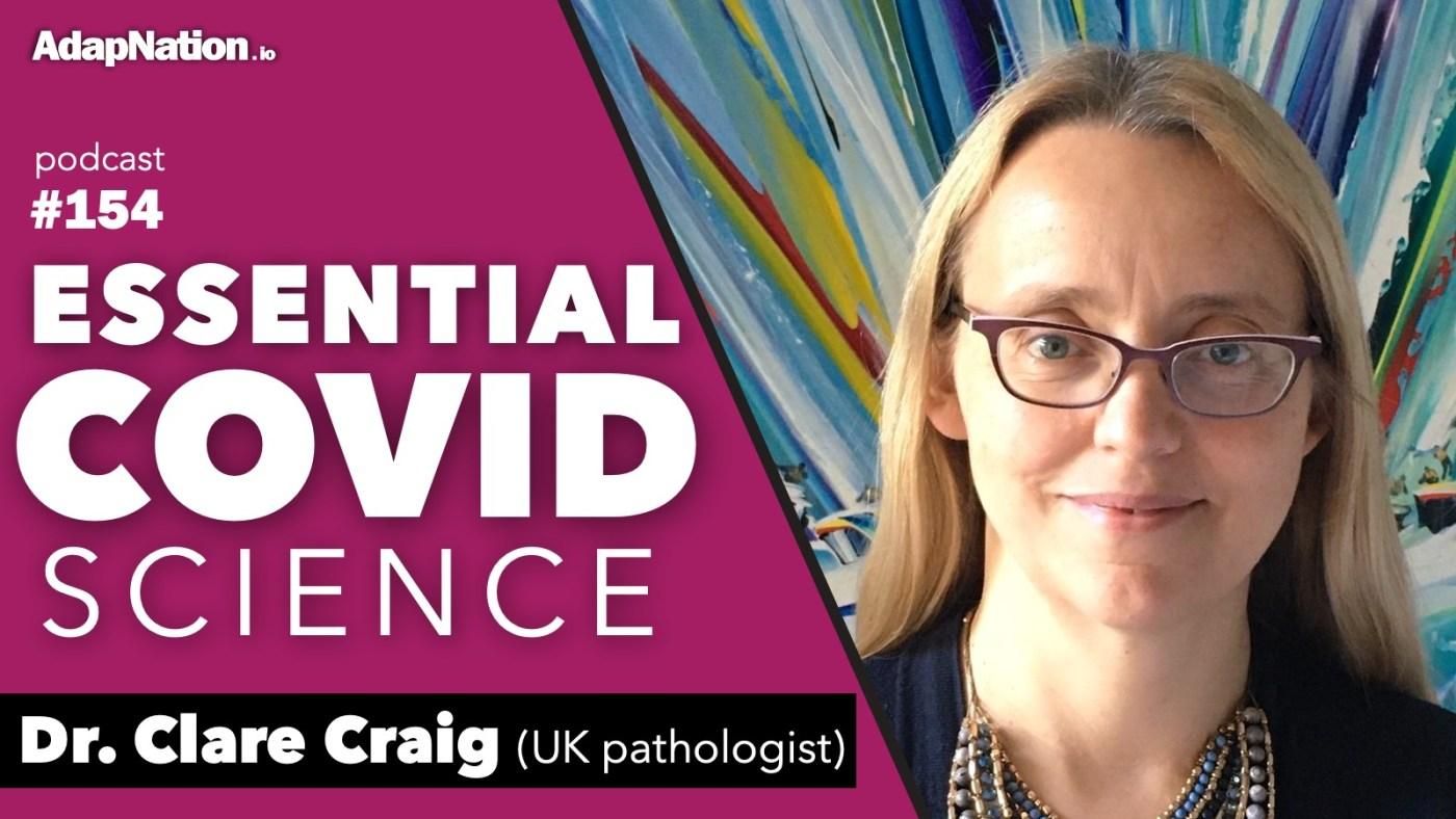 Dr Clare Craig COVID Interview 2020