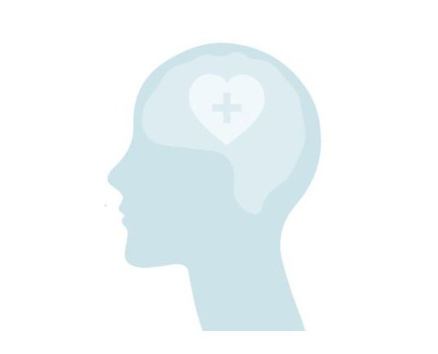 Graphic of a person's head