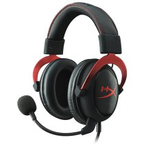 HyperX Cloud II Gaming Headset for PC & PS4 & Xbox One, Nintendo Switch - Red (KHX-HSCP-RD)