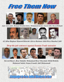 Iran - Free Jailed Workes