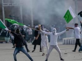 Kashmir-Protests কাশ্মীর বিক্ষোভ