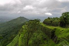 From Karnala fort