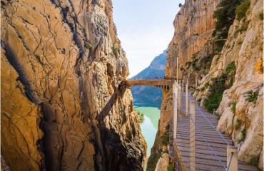 Caminito del Rey de Málaga Adarve Travel