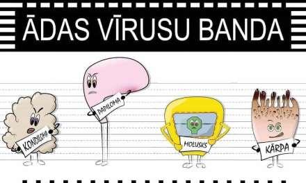 Ādas vīrusu bandas sliktie zēni.