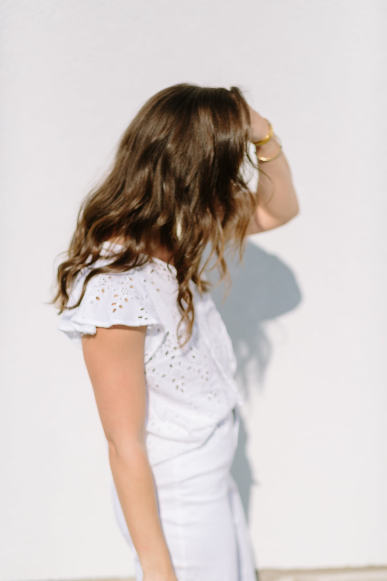 White Outfit from Old Navy