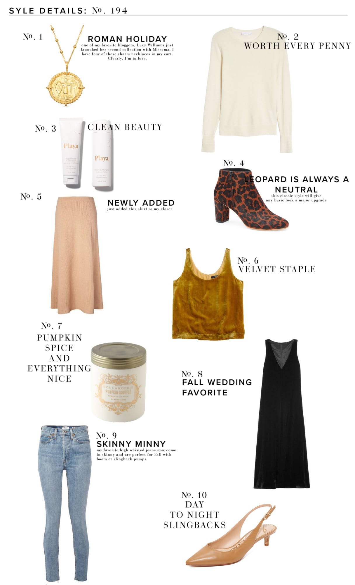 Style Details October