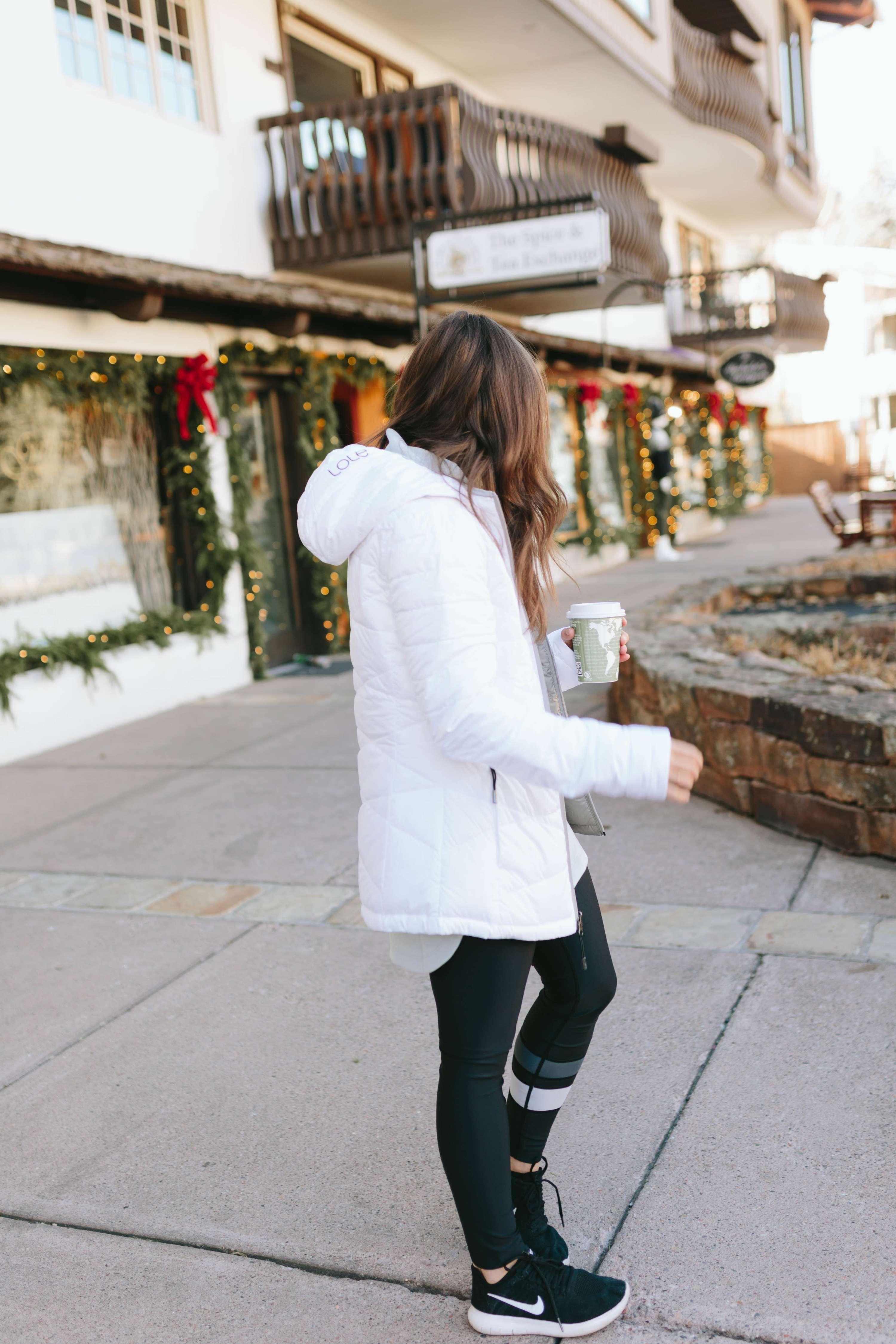 Lolë White Jacket