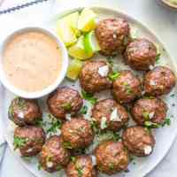Street Taco Meatballs (Paleo, Keto, Whole30)