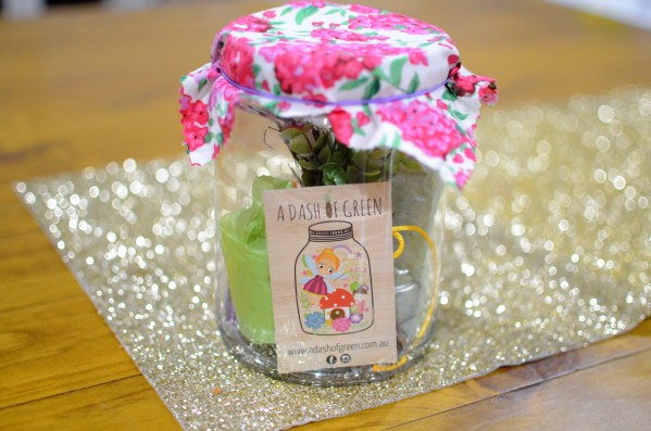 Enchanted Garden Jar, A Dash of Green, Kids Activties, DIY Jars