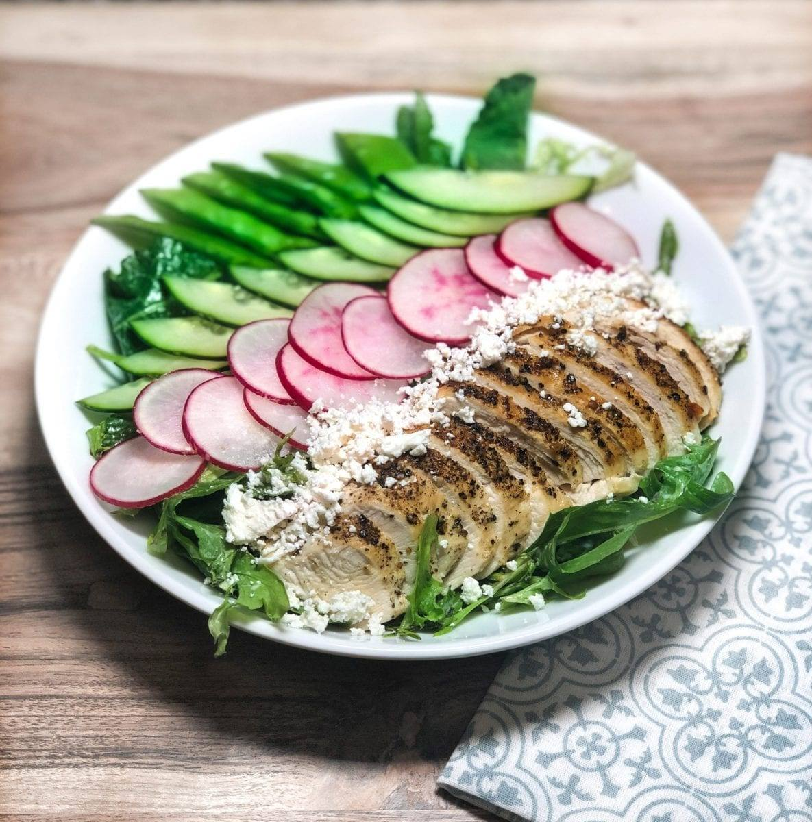 Chicken Radish Salad