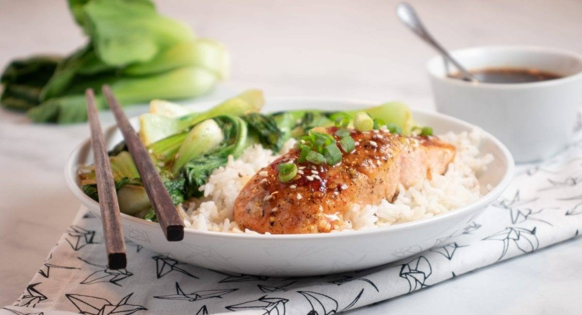 Sweet & Sour Salmon