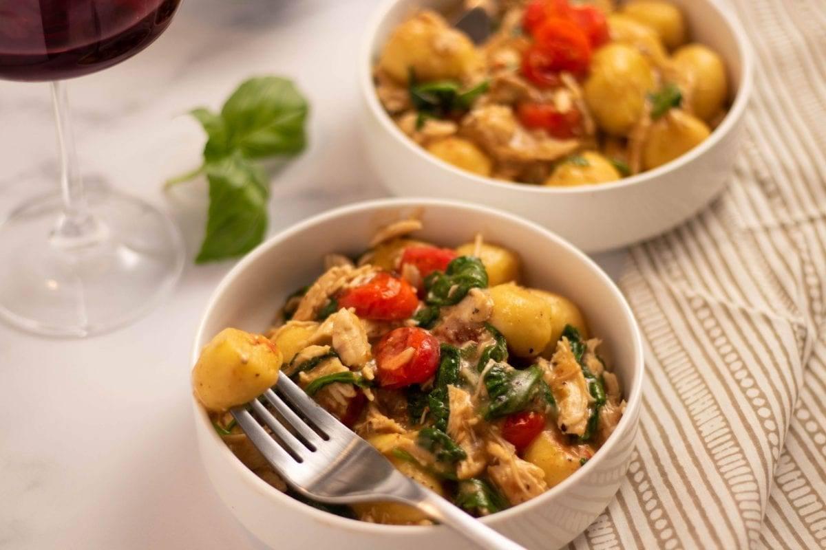 Tomato Gnocchi & Chicken