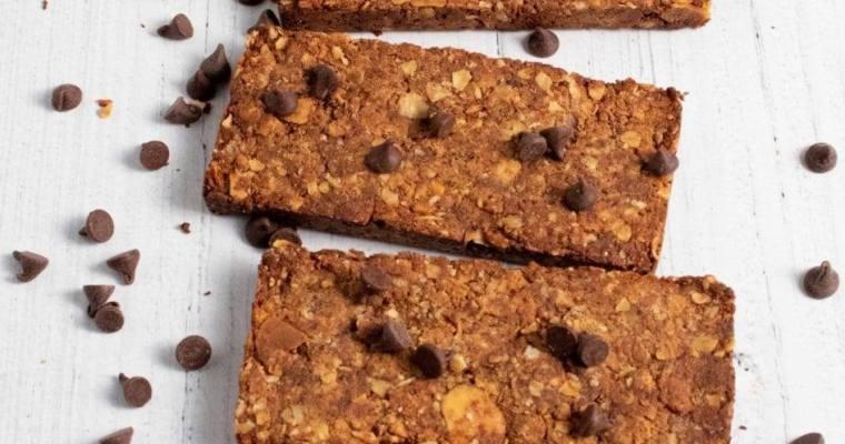 Chocolate Granola Almond Bars