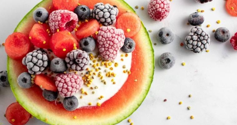 Watermelon Yogurt Bowl