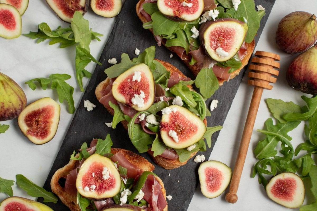 Fig and Prosciutto Toast