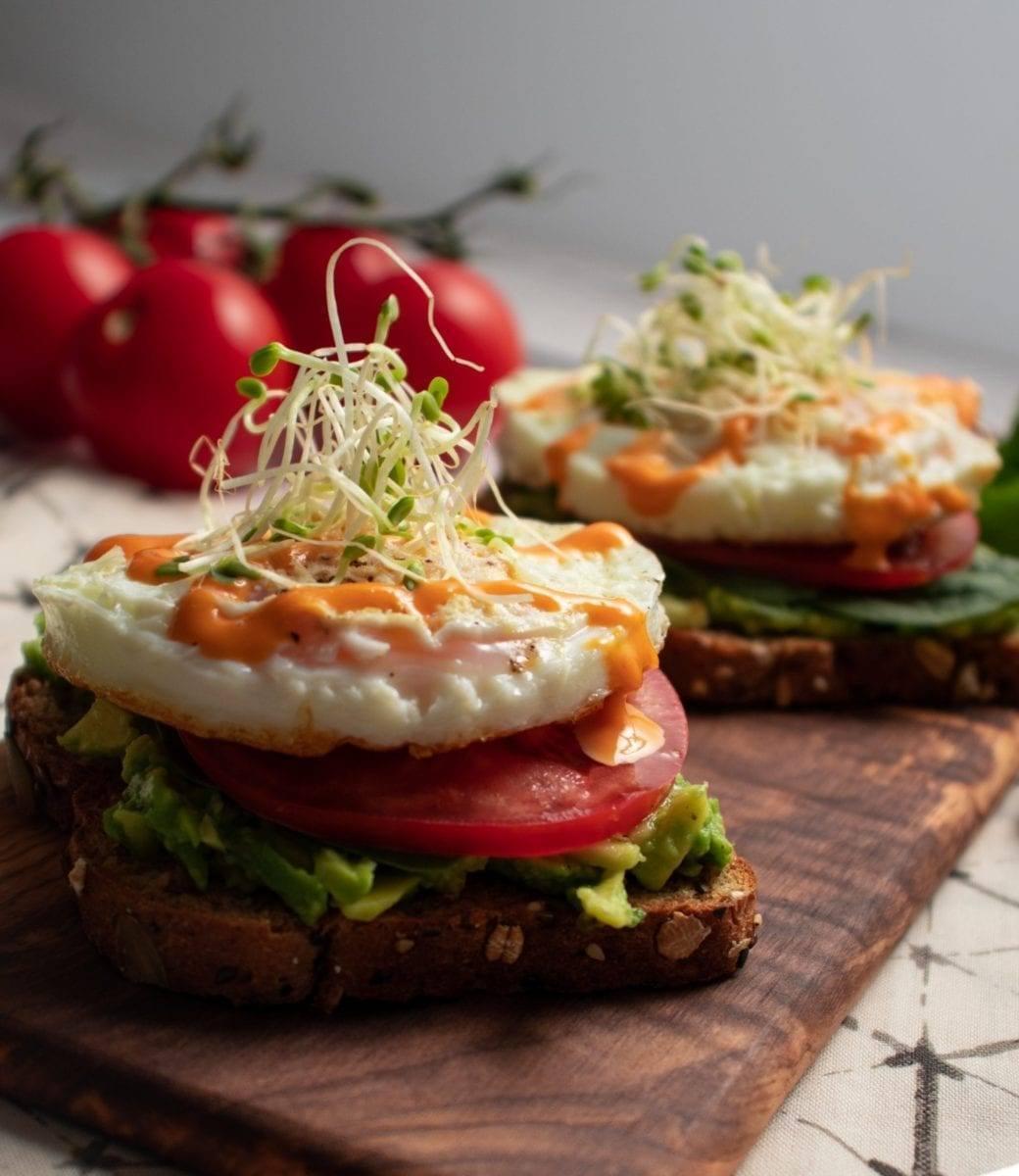 Simple Egg & Avocado Toast