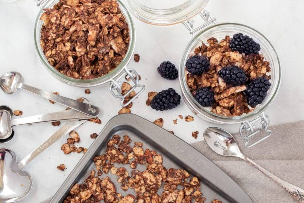 Savory Chocolate Granola