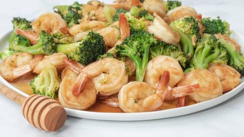 Honey Soy Shrimp and Broccoli Meal Prep Counting Macros