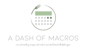 A Dash of Macros Logo