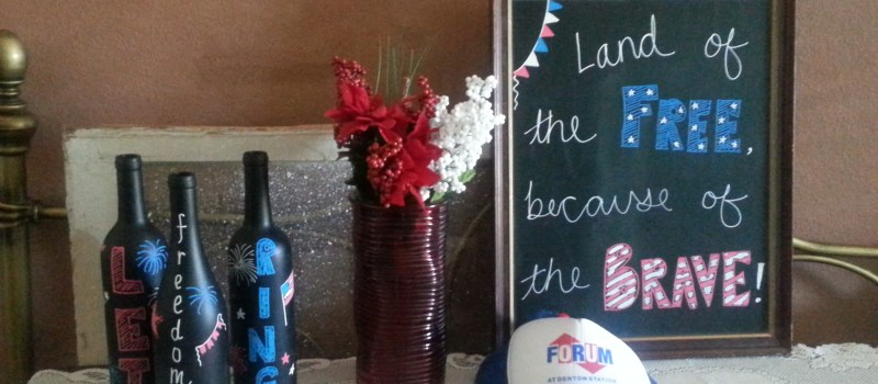 Last-Minute Memorial Day Decorations