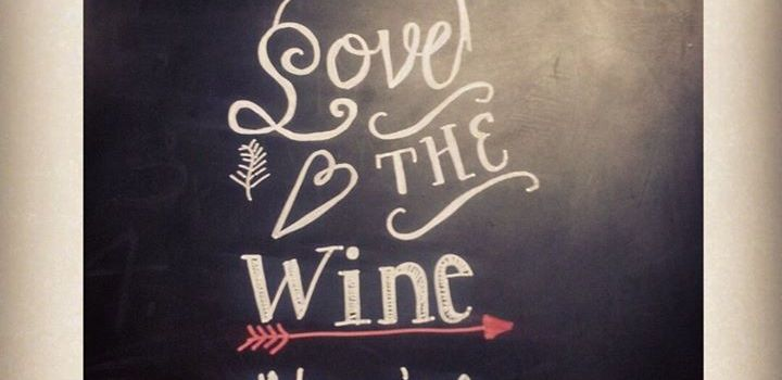 Chalkboard DIY Wine Art Quote